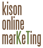 Logo kison-online-marKeTing. E-Mails an: info@kison-online-marketing.de